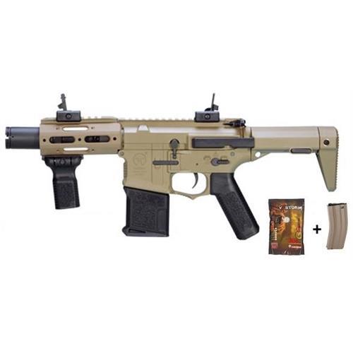 ares-m4-stubby-tactical-ris-nero-con-pallini-e-caricatore