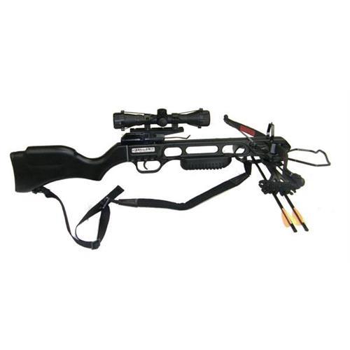 perfect-line-fucile-balestra-jaguar-nera-da-175lbs-con-ottica-4x32