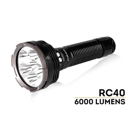 torcia-led-fenix-rc40-6000lumen-con-batteria-e-carica-batteria