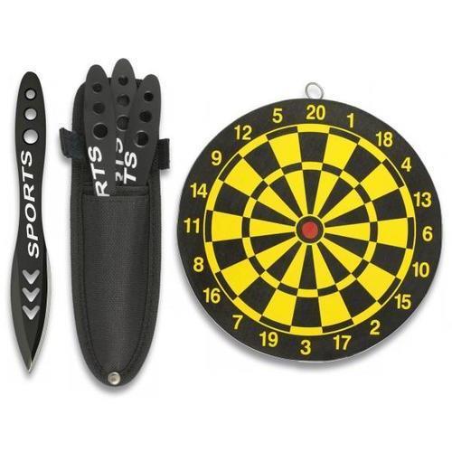 martinez-albainox-set-3-coltelli-da-lancio-con-fodero-e-centro-professionale
