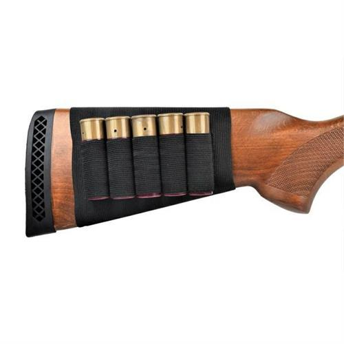 js-tactical-porta-bossoli-nero-elastico-per-fucili-a-pompa