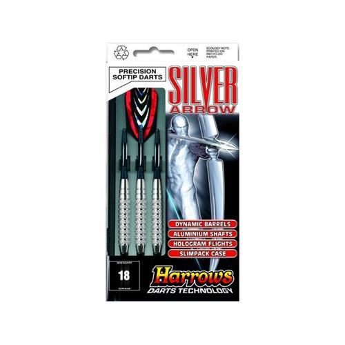 harrows-set-3-dardi-silver-arrow-chromed-brass-per-bersaglio-elettronico