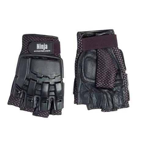 strike-systems-guanti-tattici-half-in-pelle-con-protezione-taglia-m