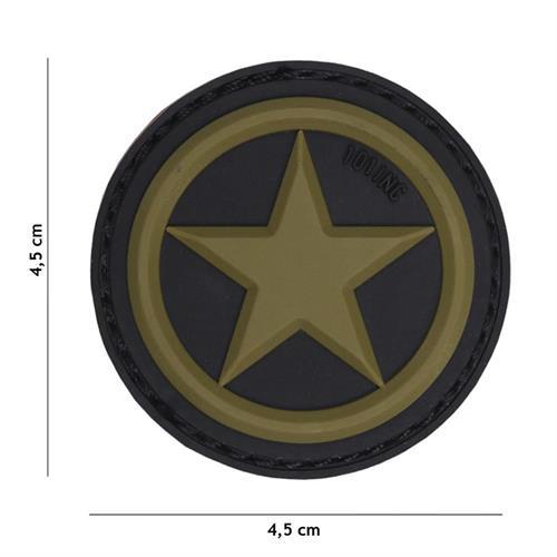 patch-3d-in-pvc-con-velcro-usa-star-verde