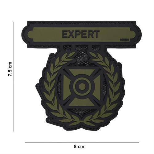 patch-3d-in-pvc-con-velcro-expert-verde