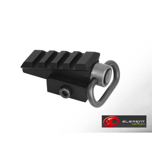 element-qd-sling-mount-with-45-rail-black