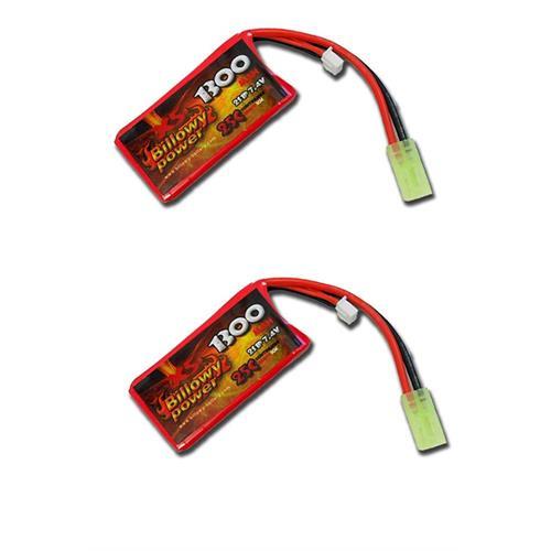 billowy-power-2pz-batteria-lipo-1300mah-7-4v-25c-power-life