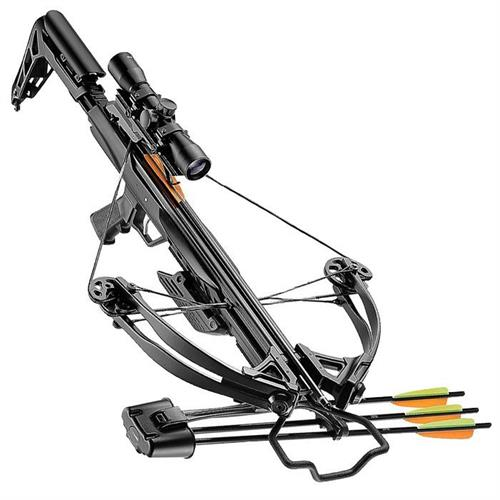 crossbow-blade-black-340fps-new-with-arrow-holder-and-scope-4x32
