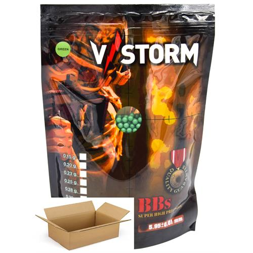 v-storm-pallini-0-23g-high-polish-precision-green-4350pz-1kg-15-buste