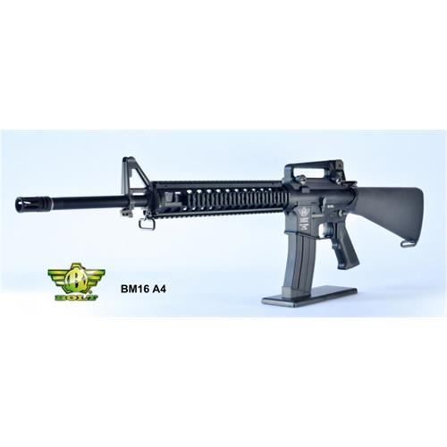 m16-a4-black-full-metal-scarrellante-recoil-system
