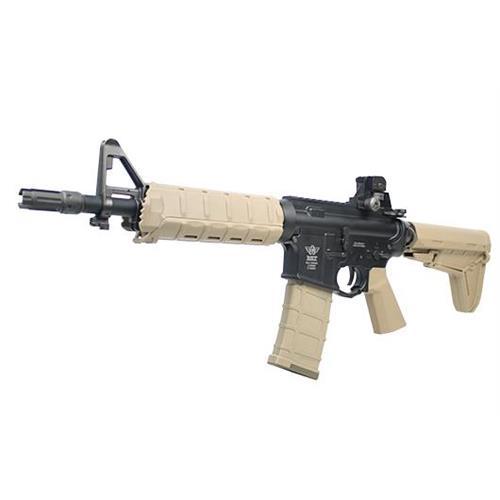 m4-elite-sd-full-metal-scarrellante-recoil-system-tan