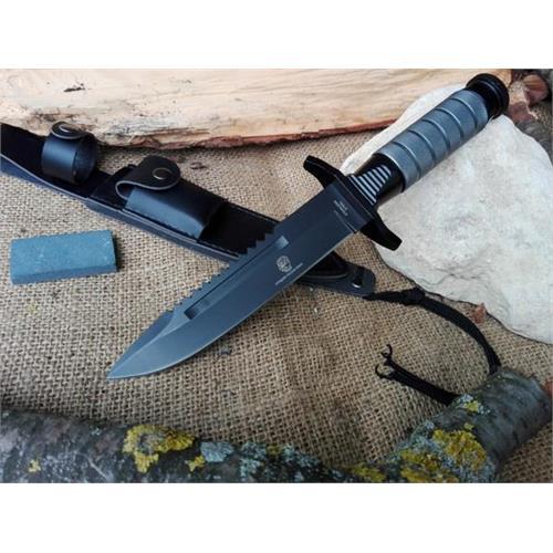 coltello-lama-fissa-brunita-da-17cm-con-frangivetro