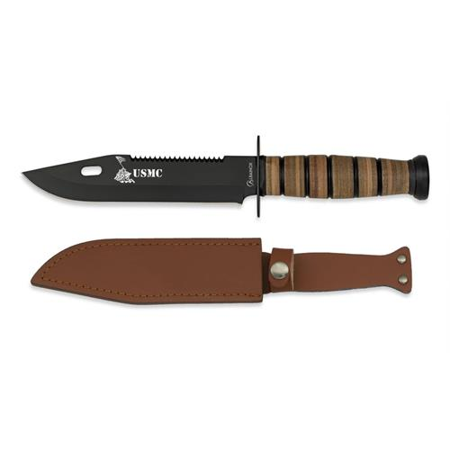 hunting-knife-usmc-black