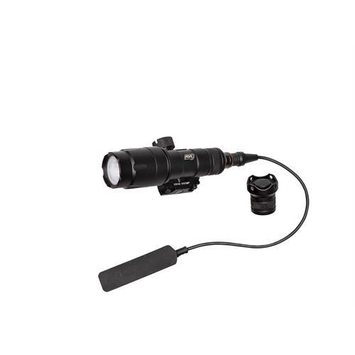 torcia-led-300-lumen-con-remoto-e-attacco-per-slitta-weaver