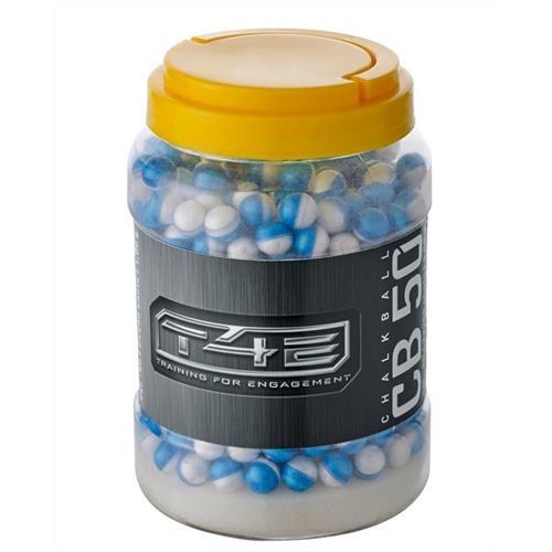 pallini-t4e-cal-50-powderball-white-in-gesso-confezione-250pz