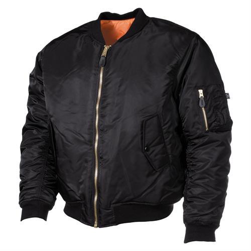 giacca-bomber-pilota-ma1-nera