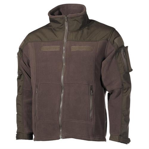 mfh-fleece-jacket-combat-od-green