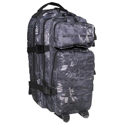 mfh-us-backpack-assault-i-laser-snake-black