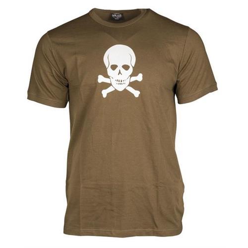 t-shirt-verde-con-teschio