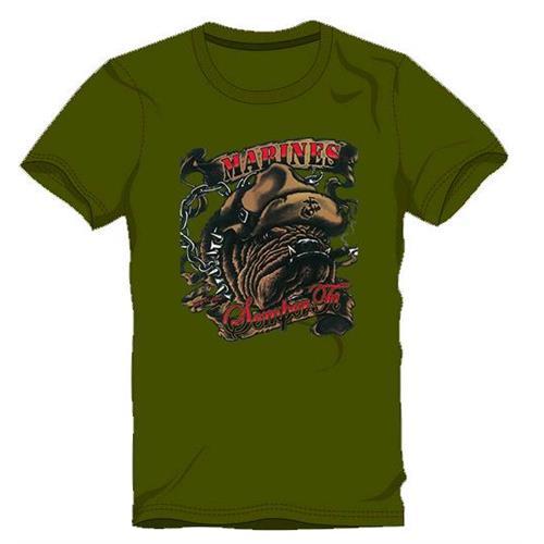 t-shirt-bull-marines-green