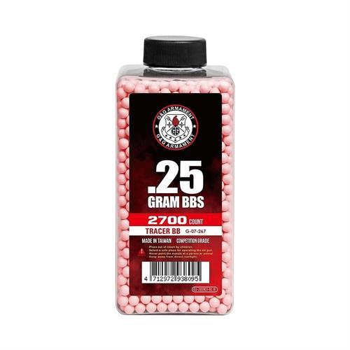 pallini-o-25g-traccianti-2700pz-rossi