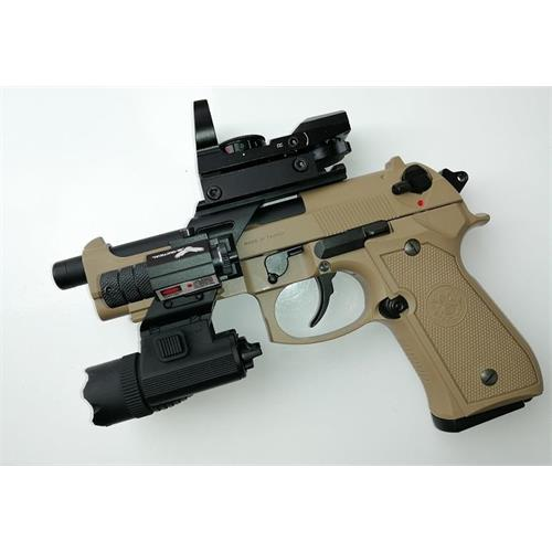 gpm92-b92sf-tan-gas-scarrellante-with-laser-slide-torch-red-dot