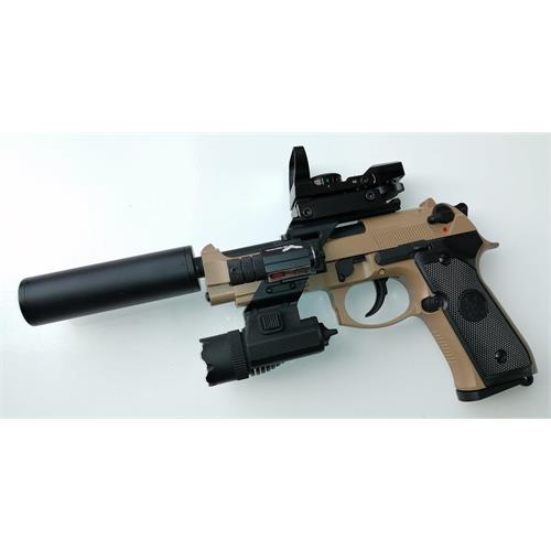 b92sf-tan-gas-scarr-full-metal-silenziatore-torcia-laser-red-dot