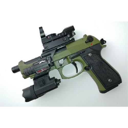 gpm92-b92sf-verde-gas-scarrellante-slitta-torcia-laser-e-red-dot