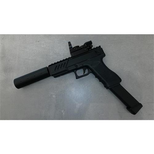 g18c-electric-gar-box-metal-with-red-dot-slide-and-silencer