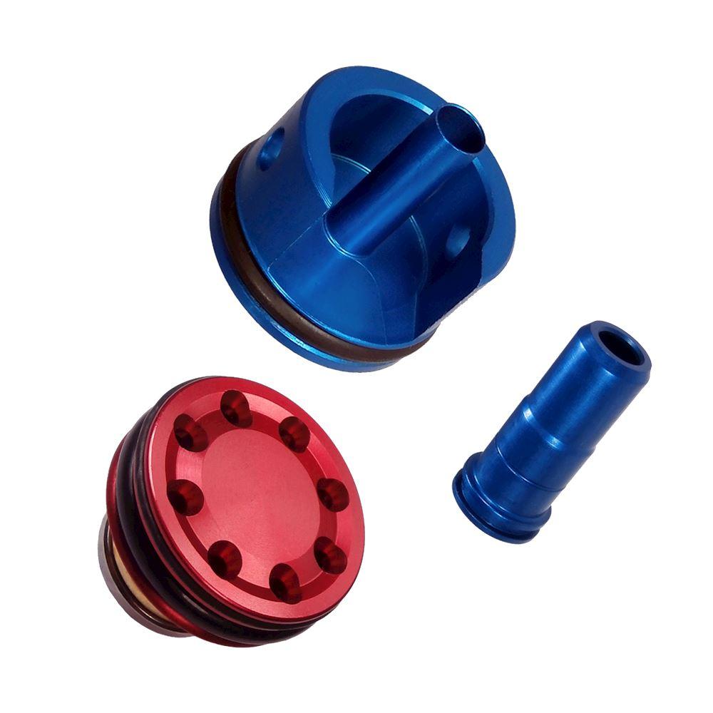 Kit In Ergal Testa Cilindro Pistone Spingipallino Per M4 Testa Cilindro Il Semaforo Negozio Specializzato In Softair