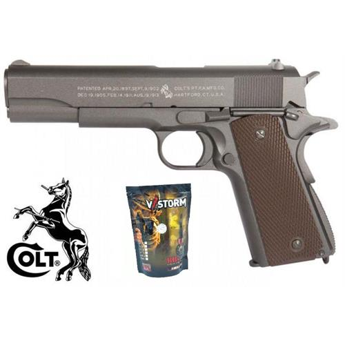 colt-1911-a1-co2-scarrellante-full-metal-100th-anniversary-con-4350bb