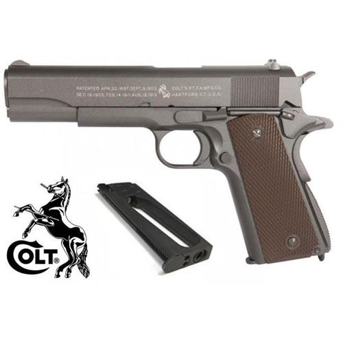 colt-1911-a1-co2-scarrellante-full-metal-100th-caricatore-aggiuntivo