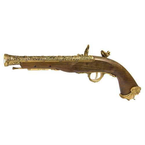 hfc-flintlock-gas-pistol-gold