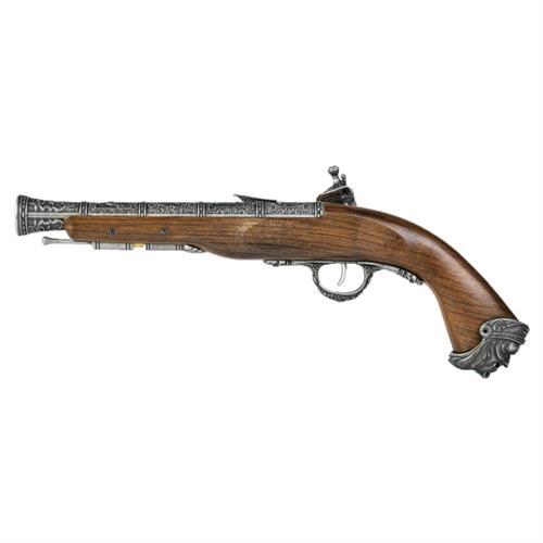 hfc-flintlock-gas-pistol-silver