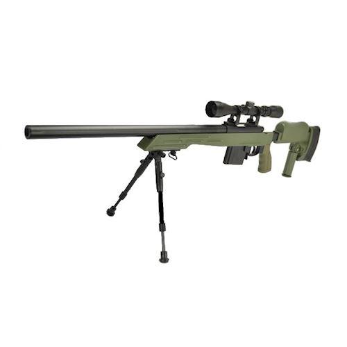 sniper-tactical-mb4413-verde-con-bipiede-e-ottica-3-9x40