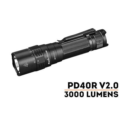 torcia-led-fenix-pd40r-v2-0-3000-lumen-ricaricabile-new-version