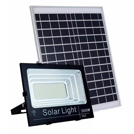 faro-led-15000-lumen-con-pannello-solare-sensore-crepuscolare-e-telecomando
