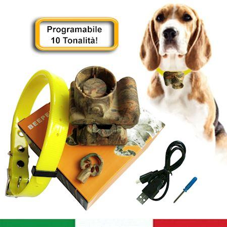collare-beeper-addestramento-cane-da-caccia-mimetico-ricaricabile