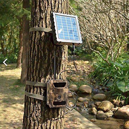 kit-con-fototrappola-trail-camera-3-5g-12mpx-panello-solare12v
