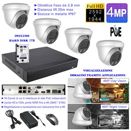 kit-4-telecamere-dome-con-risoluzione-4mpx-nvr-16-canali-di-cui-4-poe-4k-hard-disc-1tb